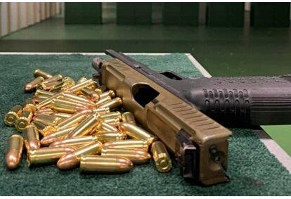 """Strzelanie Lady'shooting w Strzelnicy """"Shockfire"""" w Błoniu"""