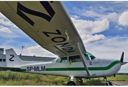 Lot widokowy samolotem nad Bydgoszczą dla  3 osób
